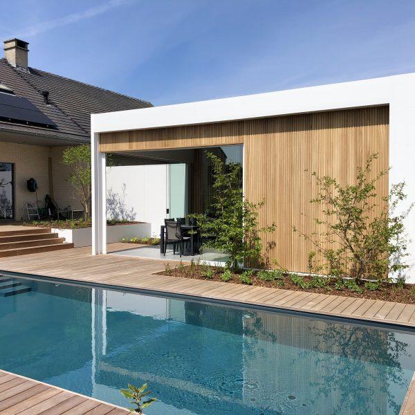Geniet in elk seizoen van uw luxe poolhouse / Galmaarden