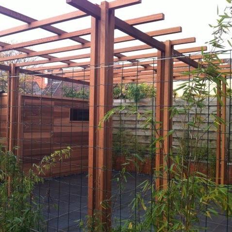 Pergola of terrasoverkapping uw extra leefruimte de telder tuinen - Aluminium pergola met schuifdeksel ...