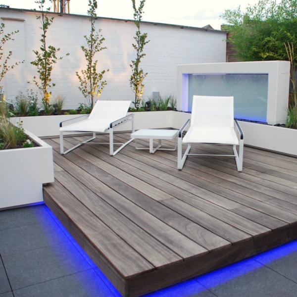 Tuinverlichting en buitenverlichting als funtioneel sfeerelement - Buitenverlichting design tuin ...